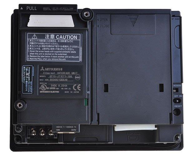 【KC.PLC_FA 】MITSUBISHI 三菱 GOT1000系列 人機介面產品 GT15-J71E71-100
