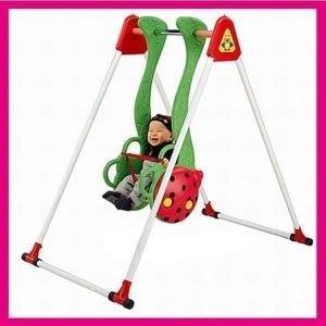 【推薦+】小瓢蟲鞦韆P072-SW03公園遊樂設施.兒童大型遊樂玩具.盪鞦韆.休閒娛樂.親子互動.ST安全玩具