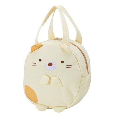 【傳說企業社】手提袋 SAN-X 角落生物 貓咪 造型 立體 刺繡 小包 正版日本進口授權