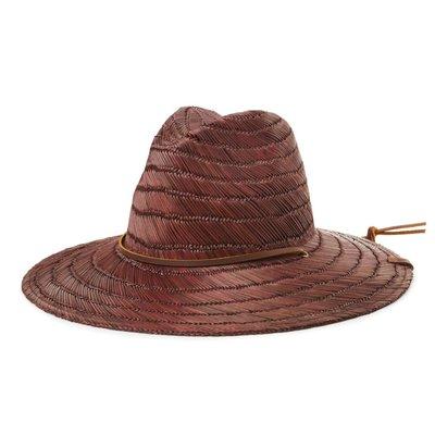 [CABAS滑板店] BRIXTON BELLS FEDORA 咖啡色 │脖繩 大帽沿 加州 滑板 草帽