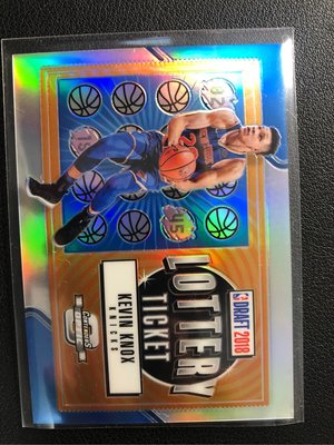 Kevin Knox Lottery Ticket 9