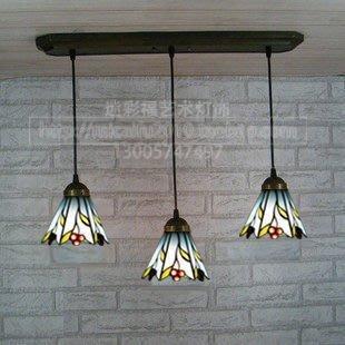 【優上精品】歐式彩色玻璃蒂凡尼燈飾 餐...