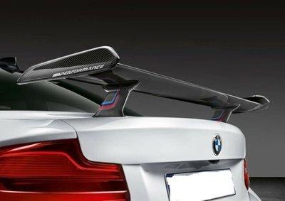 ✽顯閣商行✽BMW 德國原廠 M performance F87 M2 碳纖維尾翼 大尾翼 Competition