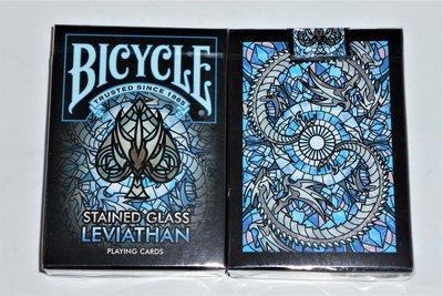 Bicycle Stained Glass Leviathan 撲克牌【USPCC撲克】S103049643
