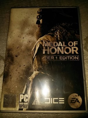 PC DVD-ROM MEDAL OF HONOR TIER 2 EDITION