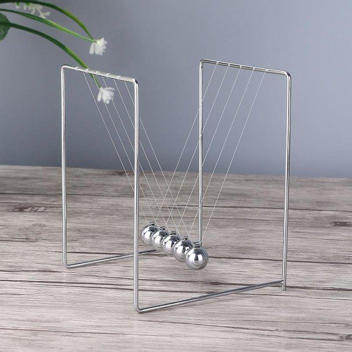 促銷價~牛頓擺球撞球永動碰碰裝飾工藝品創意家居辦公室桌面擺件禮物客廳