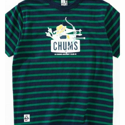 CHUMS Booby T(上衣/ T)短T