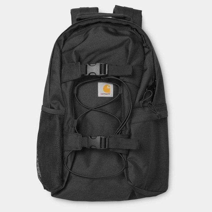 ☆ETW☆【一中店】CARHARTT WIP Kickflip Backpack 後背包 歐版 黑 現貨