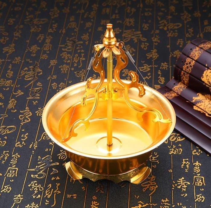 24小時盤香架香托檀香支架盤禅意創意家用合金沈香點香架供佛香爐