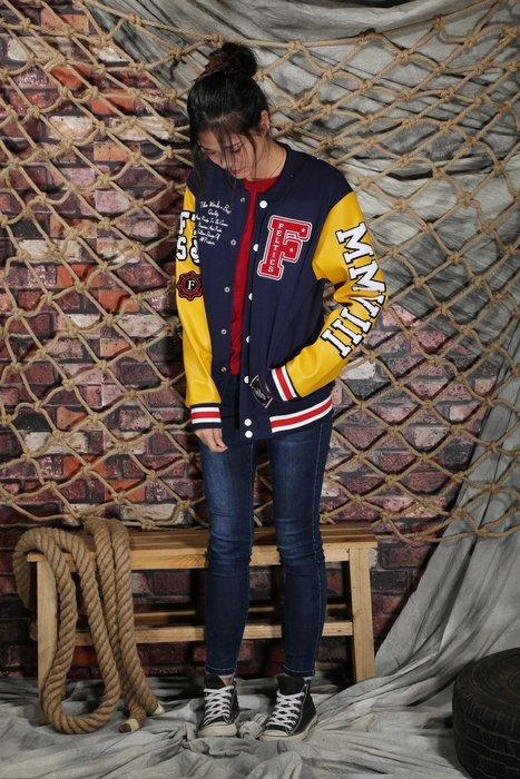 國際代購..BIGBANG GD权志龙同款外套红色蓝色刺绣棒球服开衫PU皮男女卫衣潮 A&F CK LEVIS Y3