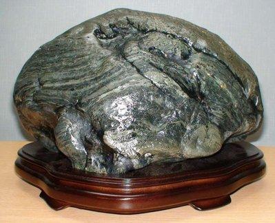 《毘盧舍那坊》花蓮海撈金瓜石,形、質、色俱佳*實重13公斤