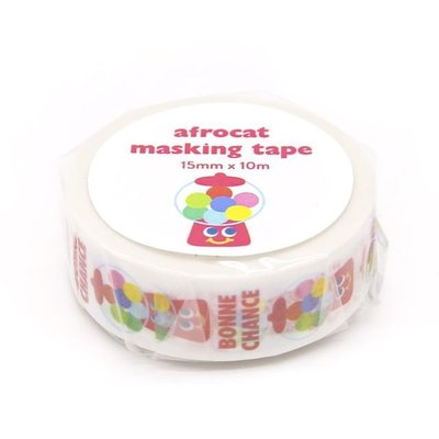 ❅PAVEE❅ 韓國afrocat~ Masking Tape 和紙膠帶~ 12 Yummy Friends 糖果機