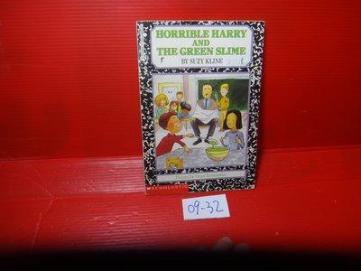 【愛悅二手書坊 09-32】Horrible Harry and the Green Slime