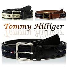 Tommy Hilfiger Men's Ribbon Inlay Belt 男皮帶 保證正品 美國空運來台【L23】