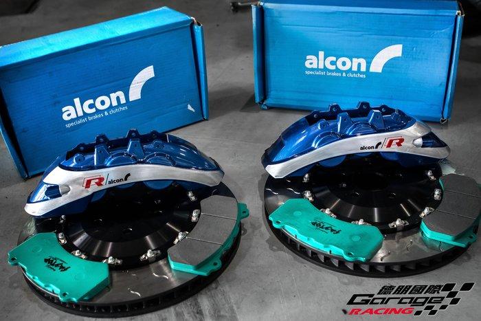 德朋國際/公司貨 ALCON RC6 六活塞搭配後加大碟 客製化烤漆 Volkswagen Passat 380 實裝