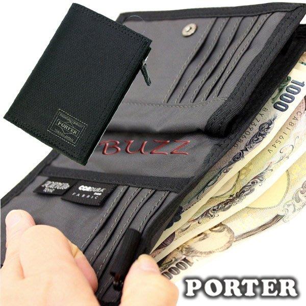 巴斯 日標PORTER屋-預購 PORTER DILL(L) 皮夾-中夾 653-09755