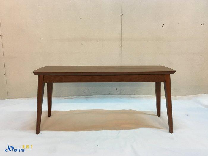 【挑椅子】北歐風實木長板凳 長凳 長椅 餐桌餐椅 茶几 矮桌 (復刻品) ZY-C50(-2) 胡桃色
