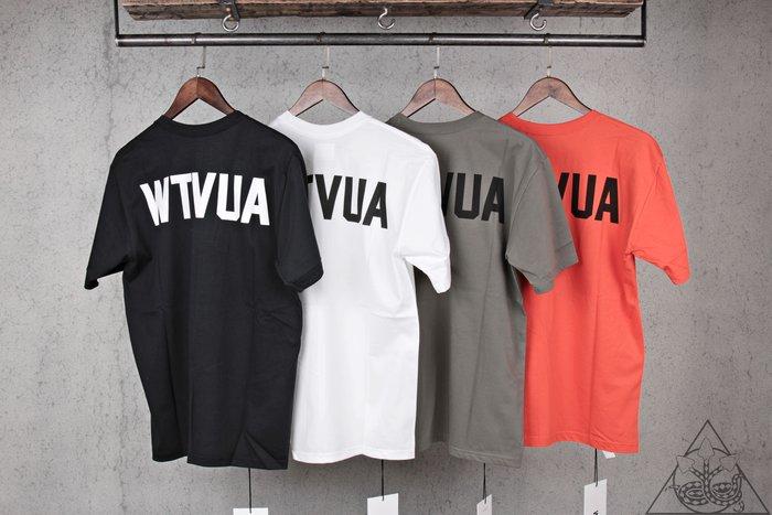【HYDRA】Wtaps Wtvua Tee 大字體 Logo 純棉 短T【WTS87】
