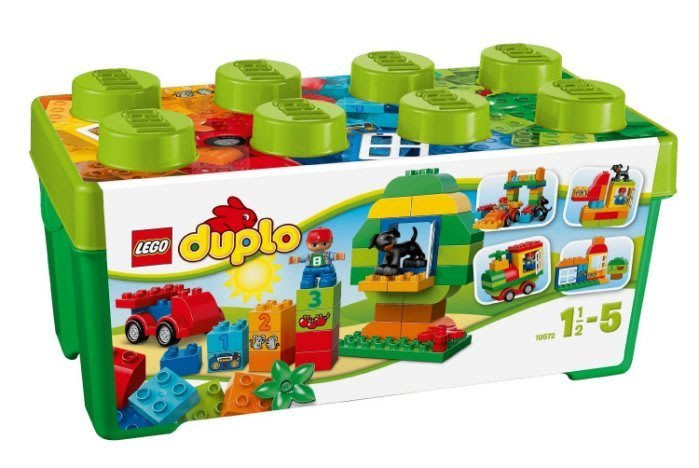 【LEGO樂高/DOUPLO得寶】雙寶媽咪─10572 綠色多合一樂趣箱 【公司貨】