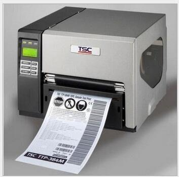 臺灣TSC-384MA4寬幅工業型條碼印表機 A4標籤 熱轉印300dpi 41