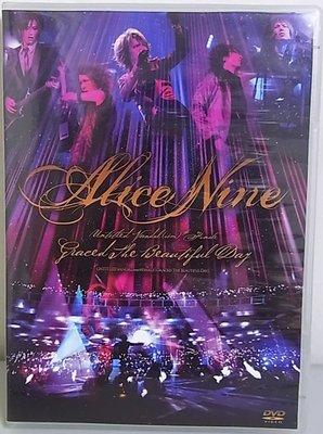 J3502 ALICE NINE愛麗絲9號   Graced The Beautiful Day / 演唱會DVD雙片裝