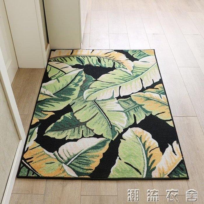 可訂製簡約入戶門地墊進門門墊門口腳墊門廳客廳地毯防滑墊子家用YXS