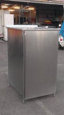 大台南冠均二手貨--厚白鐵304# 餐飲業 自助餐 廚餘垃圾回收箱 資源回收箱 垃圾箱 分類箱 垃圾桶 環保箱*餐飲設備