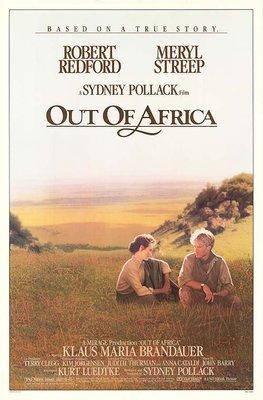 經典收藏 - 遠離非洲 (Out of Africa) - 梅莉史翠普、勞勃瑞福 - 美國原版電影海報 (1985年)