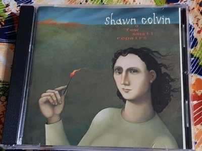 R西洋團(二手CD)shawn colvin a few small repairs