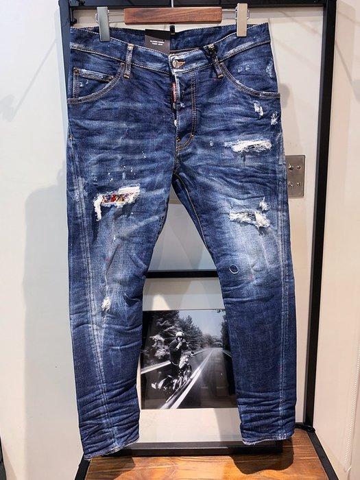 現貨【DSQUARED 2】2019春夏 後口袋手帕CLASSIC KENNY TWIST牛仔褲 *30%OFF*