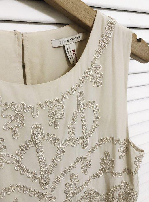 BCBG RUNWAY 奶油白蕾絲洋裝👗
