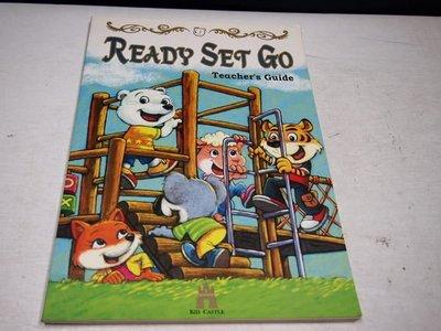 【考試院二手書】《READY SET GO Teacher's Guide》│吉的堡│七成新(B11Z42)