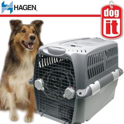 【🐱🐶培菓寵物48H出貨🐰🐹】赫根《環遊愛犬運輸籠-L》76735 符合國際運輸標準 特價4200元 限宅配