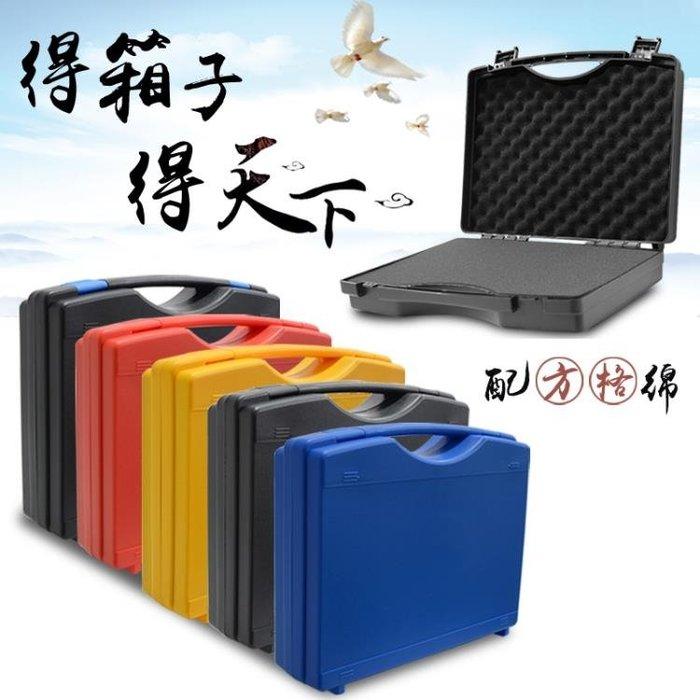 NMS 手提式塑料工具箱多功能維修防護箱儀器設備收納盒配棉