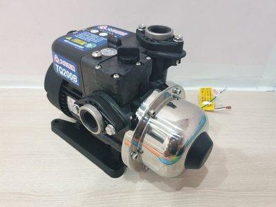 【優質五金】大井TQ 200*1/4HP電子穩壓加壓馬達*加壓機*低噪音(新包裝)~促銷中 TQ200B