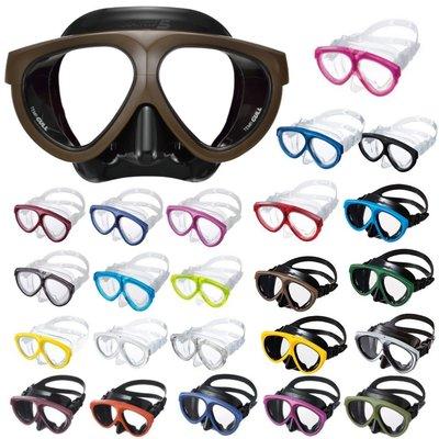 【潛水專家】GULL MANTIS 不滅傳說 雙面潛水面鏡 (共23色可選) 送除霧劑