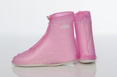[中壢安信] FairRain 飛銳 果漾平底 防雨鞋套 鞋套 甜美粉