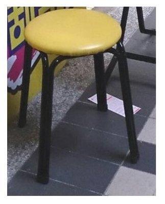 【中和利源店面專業賣家】全新 板凳【台灣製】餐椅 矮凳 彩券行 工作 圓椅 涼椅 皮椅 雙管椅腳 涼椅火鍋 板凳 熱炒