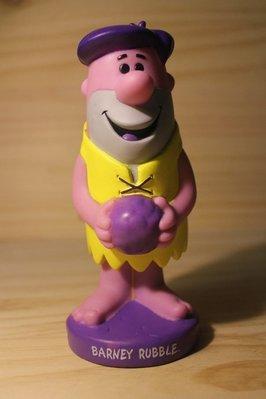 (I LOVE樂多)摩登原始人 barney rubble funko 巴尼 搖頭公仔 紫黃異色版 商品稀少值得珍藏
