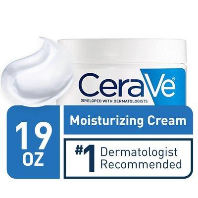 Cerave 現貨2020年1月已到台全新款1罐 美國原廠 玻尿酸潤澤 保濕乳霜 Cream 19 oz(539 g)