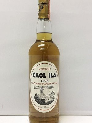Caol Ila 1978 Scotch Whisky 700ml Samaroli 限量 251支 Bottled in 1991