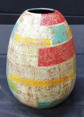 Belva Vase (L) (GC-185-L)東南亞風格 落地花瓶花器 景觀陶器擺件