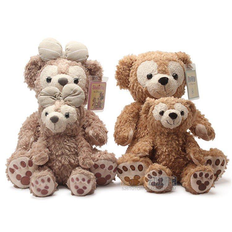 【便利公仔】含運 日系達菲熊DUFFY裸身麻布雪莉玫SHELLIEMAY毛絨玩具抓娃娃機公仔