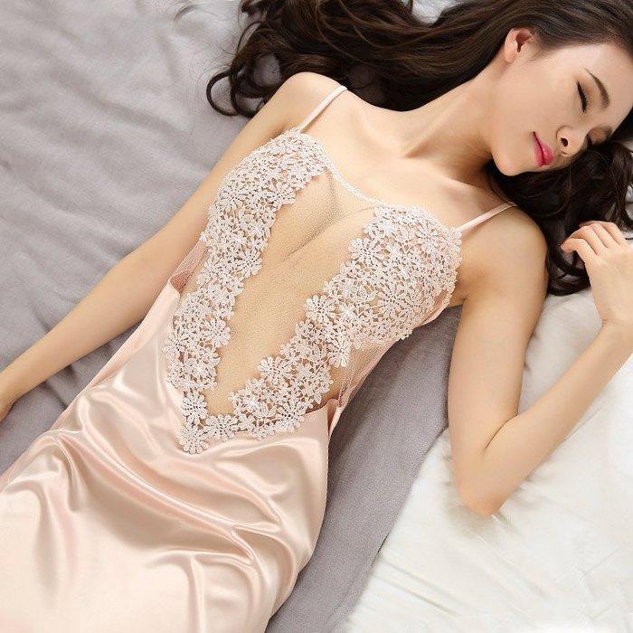 性感 睡衣 正韓情趣睡衣 性感騷 短 透明薄沙極度誘惑火辣女士吊裙蕾絲激情套裝7-11