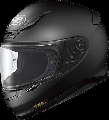 《鼎鴻》SHOEI全罩式素色安全帽 Z7  消光黑