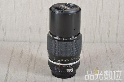 【品光攝影】NIKON AI 200mm F4 老鏡 手動鏡頭 #91018