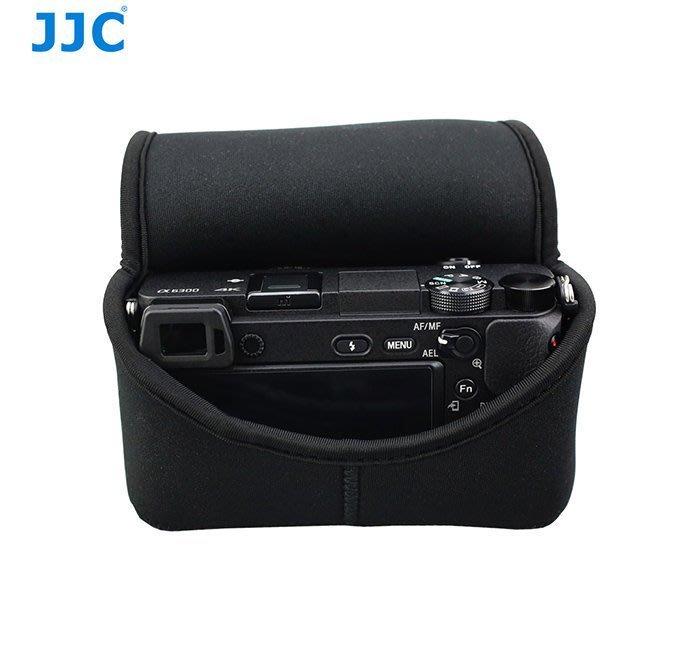 泳 JJC OC-S2BK微單相機內膽包相機包防撞包防震包Sony A5100 A6000 A6300+18-55mm