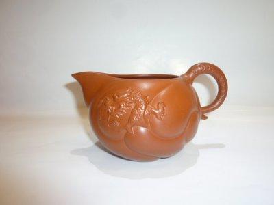 茶壺.紫砂壺.朱泥壺.手拉坯壺/全新優質魚化龍茶海