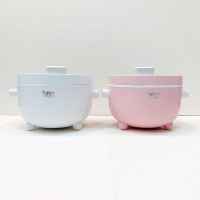 Wookiki生活百貨【富士電通】 新品免運中 Fujitek 陶瓷不沾電火鍋 個人鍋2L 美食鍋 快煮鍋