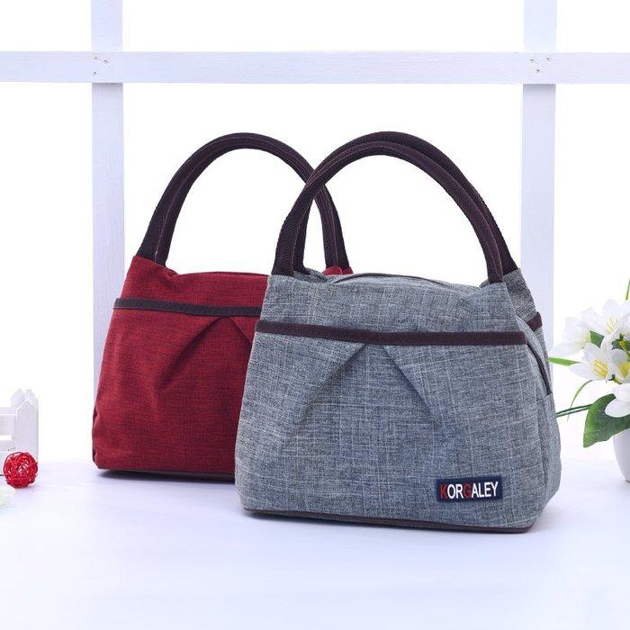 防水牛津帆布手提包 手提袋 牛仔手提袋 便當袋 環保袋 媽媽包